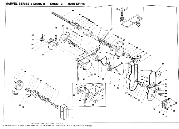 MARVEL Series 8 Mark II Metal Cutting Band Saw Owner's