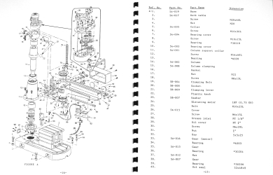 DAR SIN/JET DSR-750S & JRD-750 Radial Drill Instructions