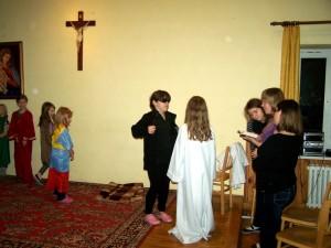 Przedstawienie w wykonaniu dzieci