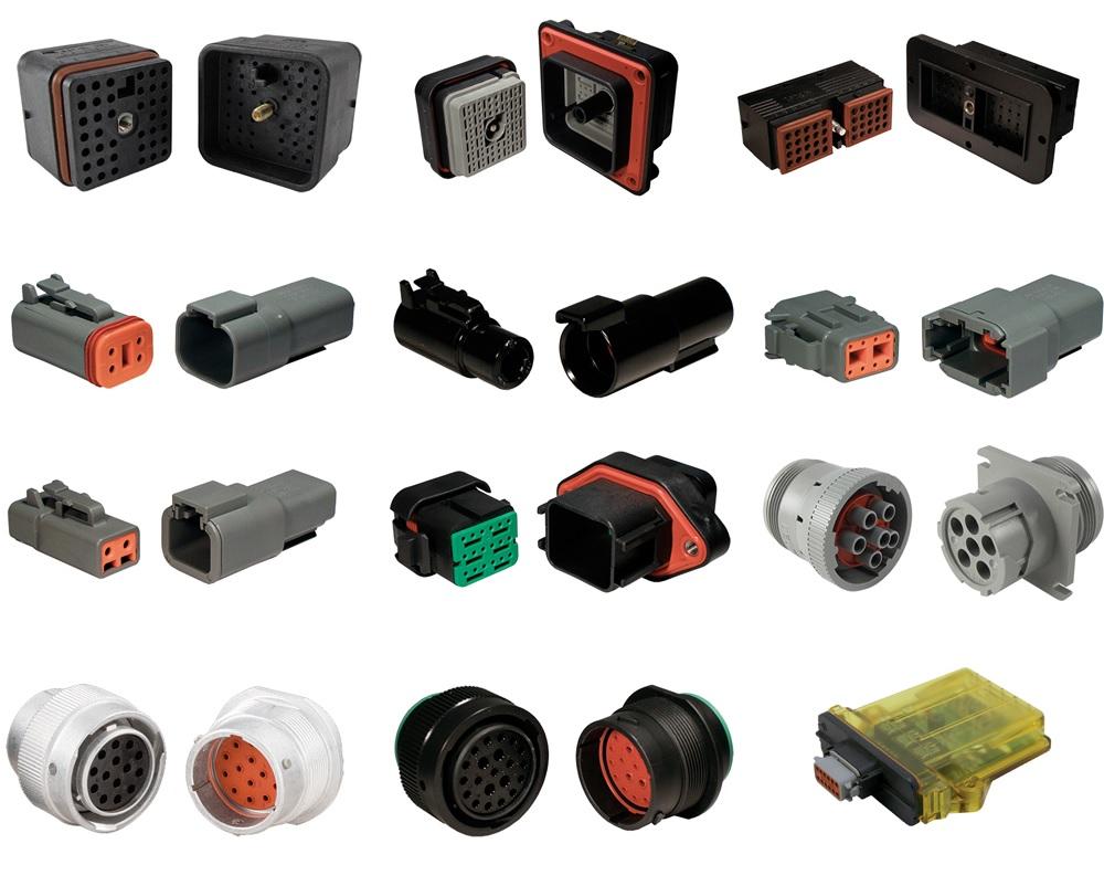 hight resolution of deutsch connectors