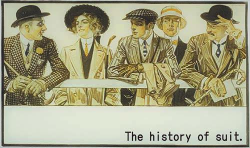 スーツの歴史①1840年頃〜