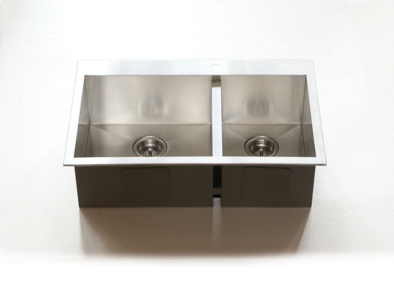 double bowl kitchen sink small table for 800mm width stainless steel