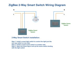 AUNZ Smart Dimmer Switch for Google Home Amazon Echo