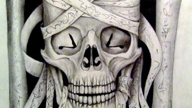 Photo of Skull Art