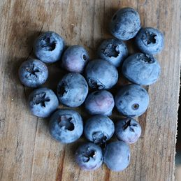 OZblu Blueberry Heart