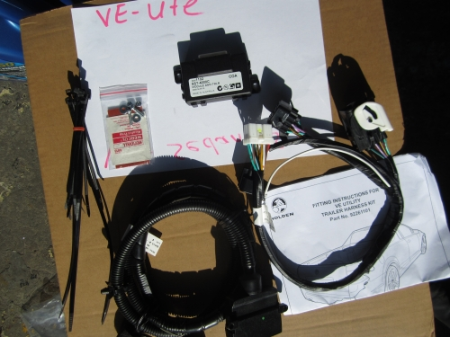 Holden Ve Towbar Wiring Harness