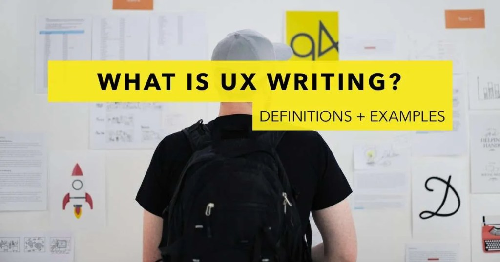 what-is-ux-writing-definition