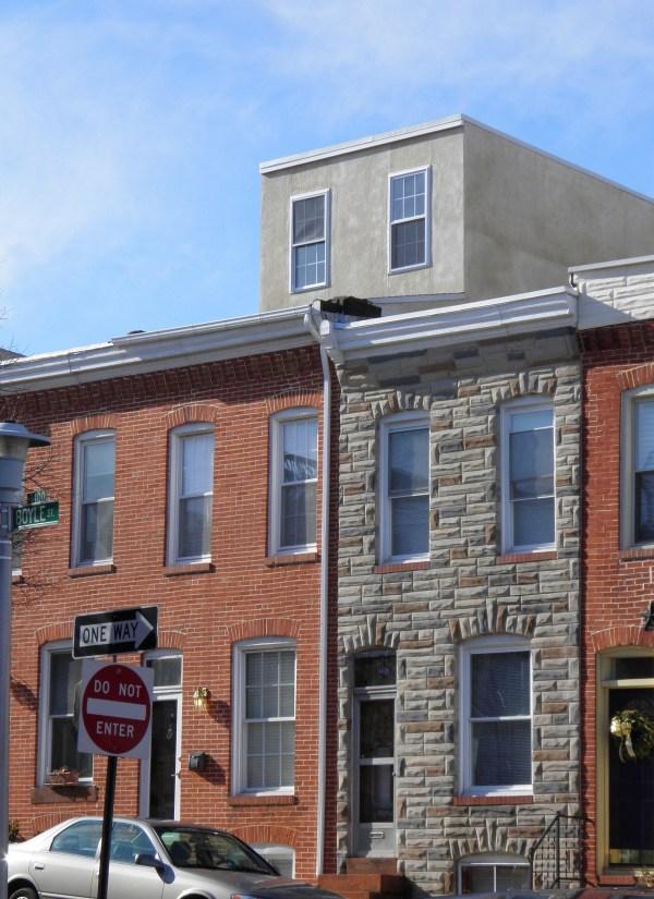 Baltimore Brick Rowhome
