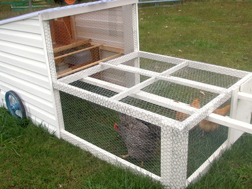 How to build a diy chicken coop for Moving chicken coop plans