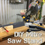 DIY Mitre Saw Stand