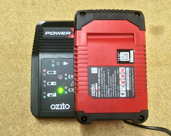 ozito power x change battery 2