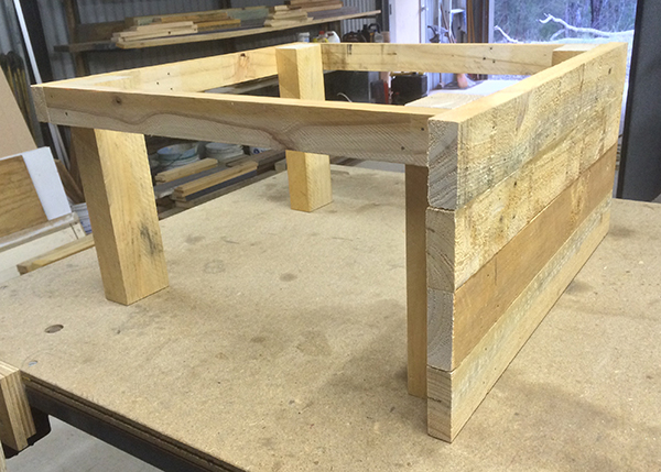 coffee table frame