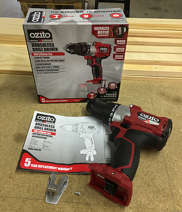 ozito brushless drill driver 1