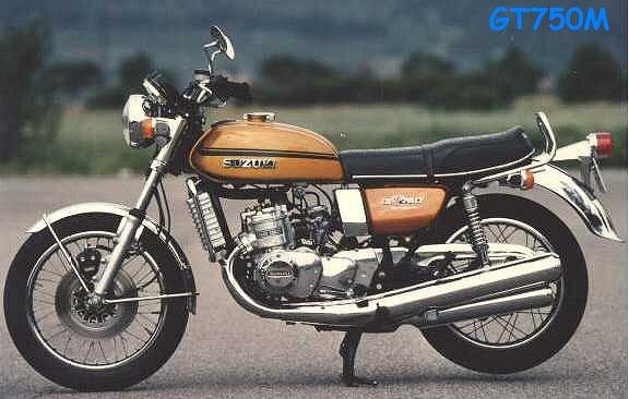 Suzuki Gt750 Triple Watercooled
