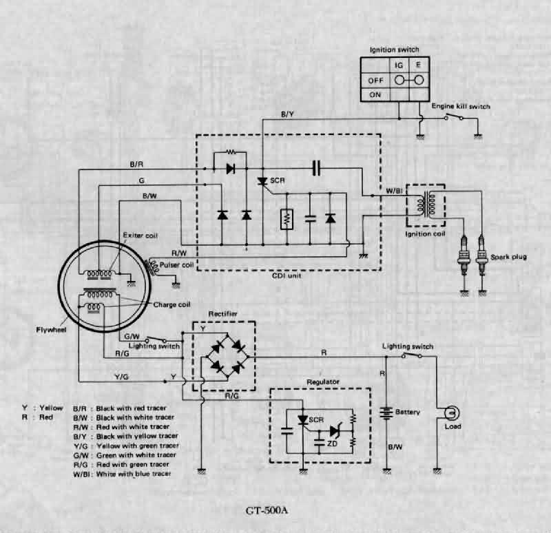 wiring diagram suzuki gs850g