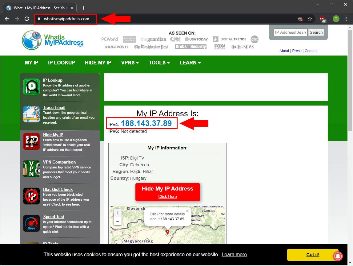 OZEKI - How to determine your public IP address