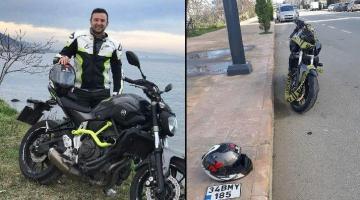 Motosiklet ile hız denemesi yapan özel güvenlik görevlisi yaşamını yitirdi