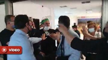 Antalya Adliyesi'nde x-ray gerginliği: Avukatlar ve özel güvenlik arasında arbede yaşandı!