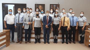 Rektör Çiçek, Özel Güvenlik Görevlilerinin Haftasını Kutladı