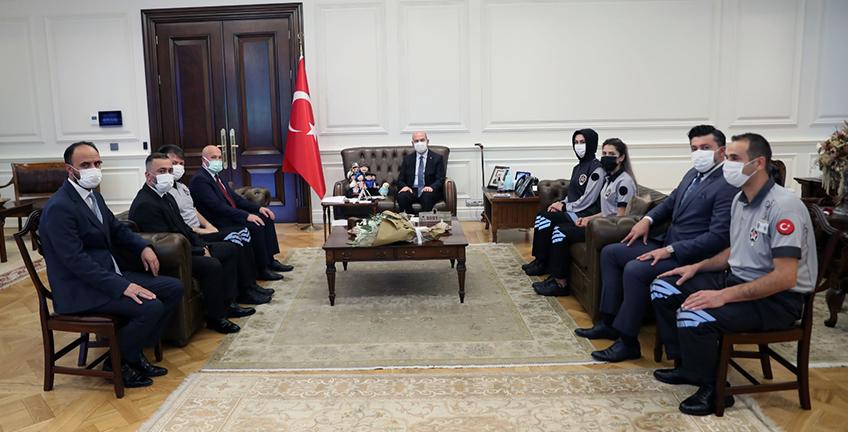 İçişleri Bakanı Süleyman Soylu Özel Güvenlik Görevlilerini Ağırladı