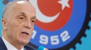 Türk-İş Genel Başkanı Ergün Atalay KİT'lerle ilgili açıklamada bulundu