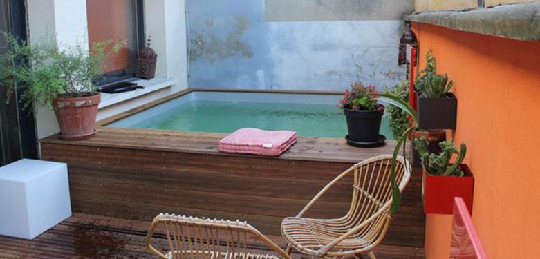 mini piscine 2x2 petite piscine