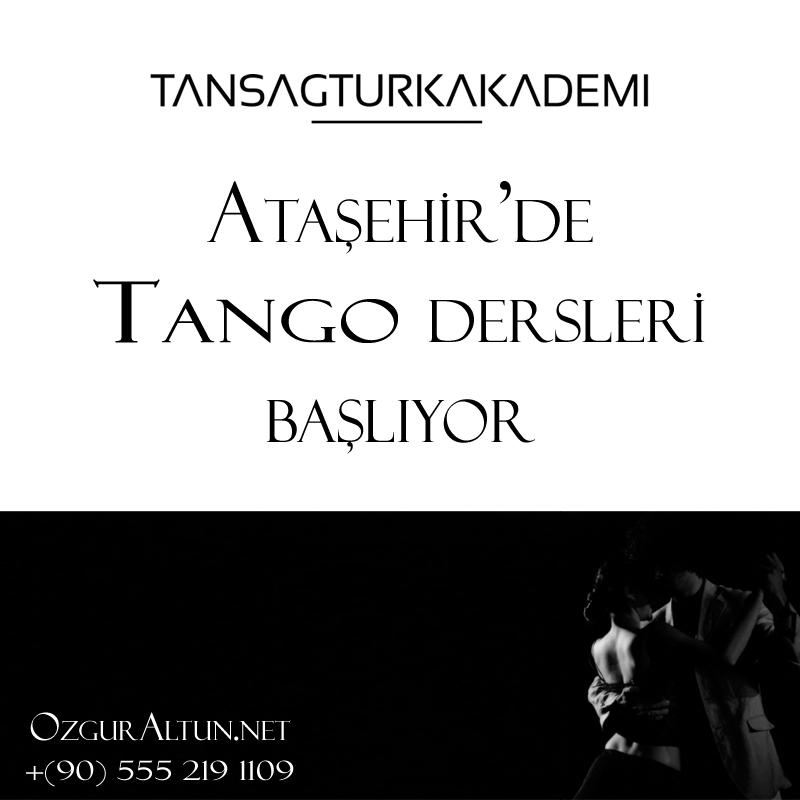 Ataşehir tango dersleri Tan Sağtürk Akademi Ataşehir'de.