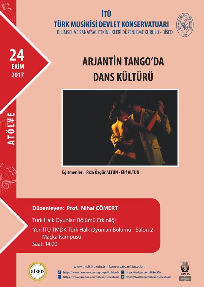 Arjantin Tango'da Dans Kültürü