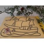 Büyük Boy Kum Boyama Aktivite Seti – Gemi