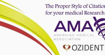AMA: The Citation Style for your Dental Research