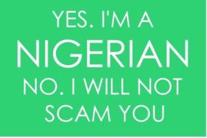 I am Nigerian