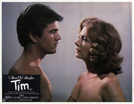 Image result for piper laurie and mel gibson in tim
