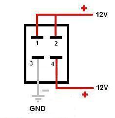 12v on off toggle switch wiring diagram sunpro super tach ii 4 post great installation of how to wire pin led rh oznium com spst