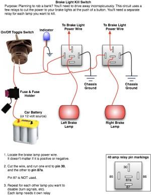Rear Brake Light Kill Switch | Oznium Forum