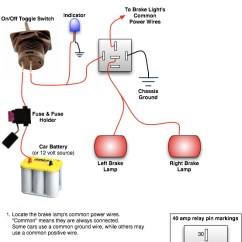 Wiring Diagram For Race Car Kill Switch 1972 Vw Beetle Engine Installing A Rear Brake Light | Top Forum Picks - Oznium Blog