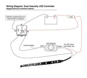 LED Brake  Running Light Controller Diagram | Oznium Forum