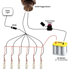 Car Led Light Wiring Diagram Rcbo How To Install Lights Help Installing User Posted Image