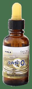 Aceite Ozonizado SANO3 30 ml nivel A