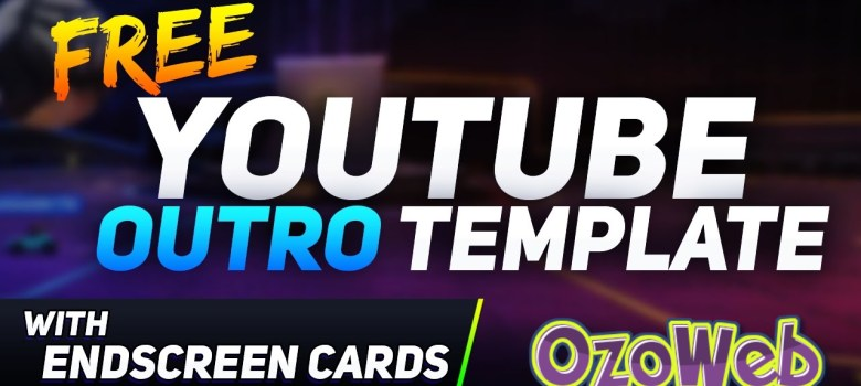 Free Youtube End Card Templates