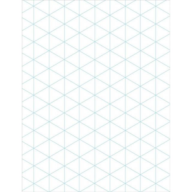 Clearview Triangle 2 sided graph paper by C&T Publishing