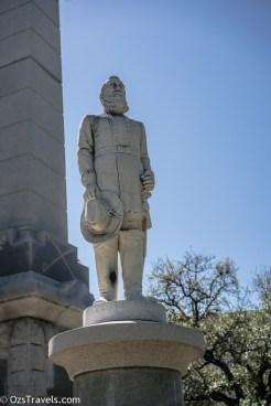 Dallas Texas, Confederate War Memorial Dallas, Pioneer Park