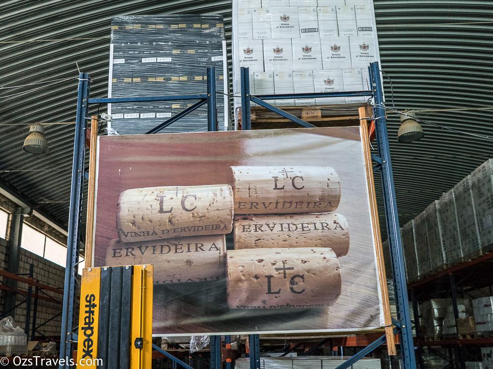 Ervideira Winery Alentejo Portugal