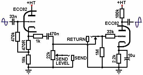 Simple Programmable Effects Loop Schematic, Simple, Get