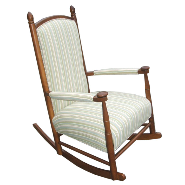 Big Upholstered Rocking Chair Ideas  OZ Visuals Design