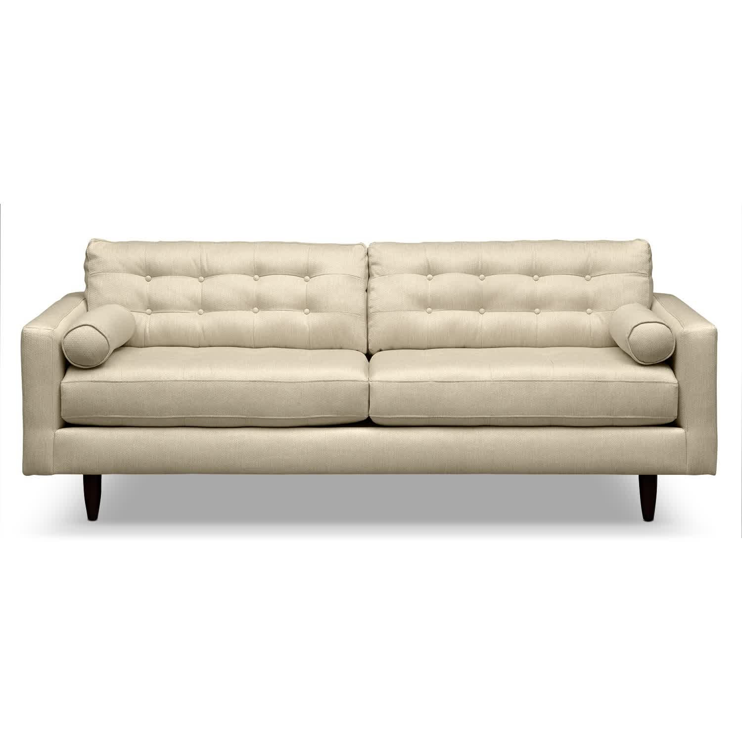 white tufted leather sofa recliner covers ideas oz visuals design image of modern