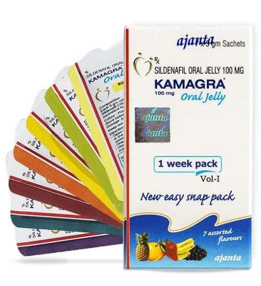 「液態威而鋼」Kamagra Oral Jelly果凍威|印度代購必買|7種水果味 - P-force必利吉藥局