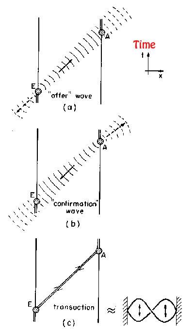 Physics: Transactional Interpretation of Quantum Mechanics