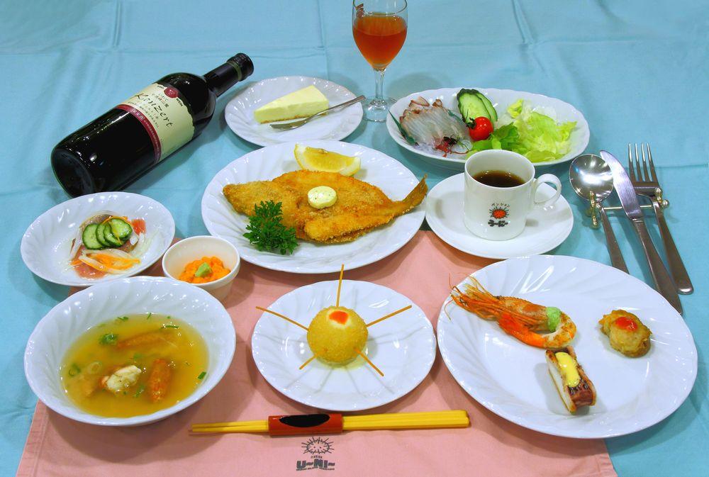 礼文島の味覚をたっぷりとお楽しみ下さい