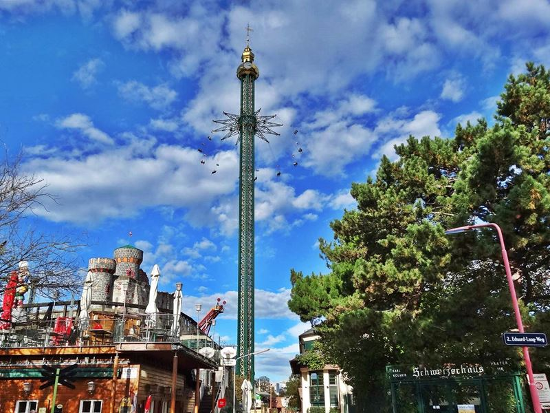 chair swing vienna with stand canada prater top 10 attractions 2019 tower