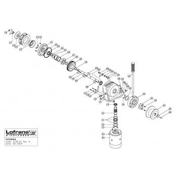 Lofrans Kobra Windlass Parts